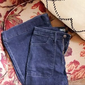 70's High Rise Flare Jeans